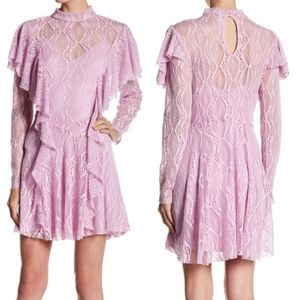 Free People | Rock Candy Lace Dress Wisteria NWT